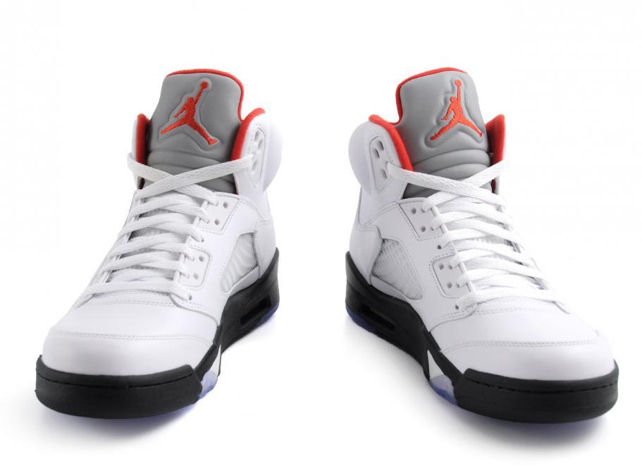 save off 13542 10aeb Nike Air Jordan 5 Retro Fire Red