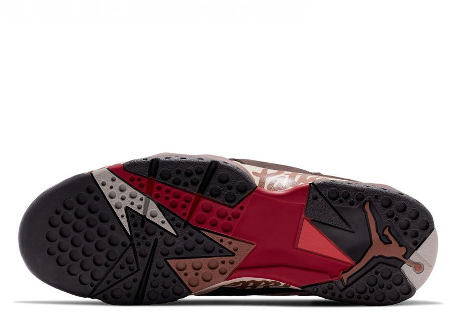 sports shoes 503b1 1a7b7 Nike Jordan 7 Retro Patta Shimmer