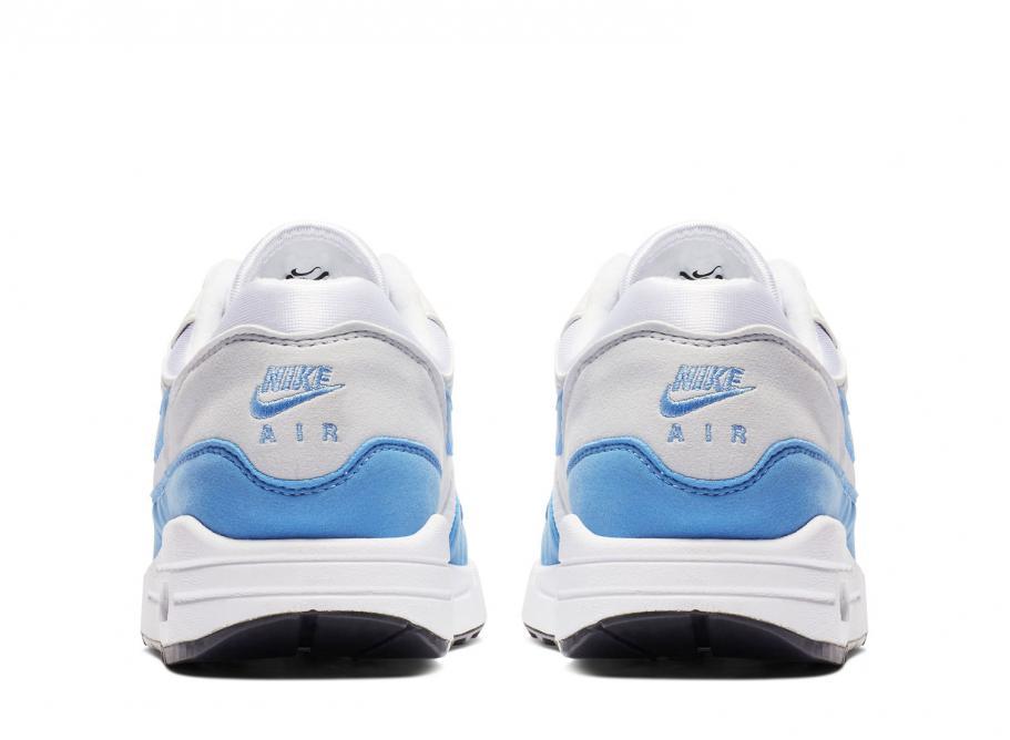 University Nike Wmns Essential White Air Blue Max 1 bgyYfv76