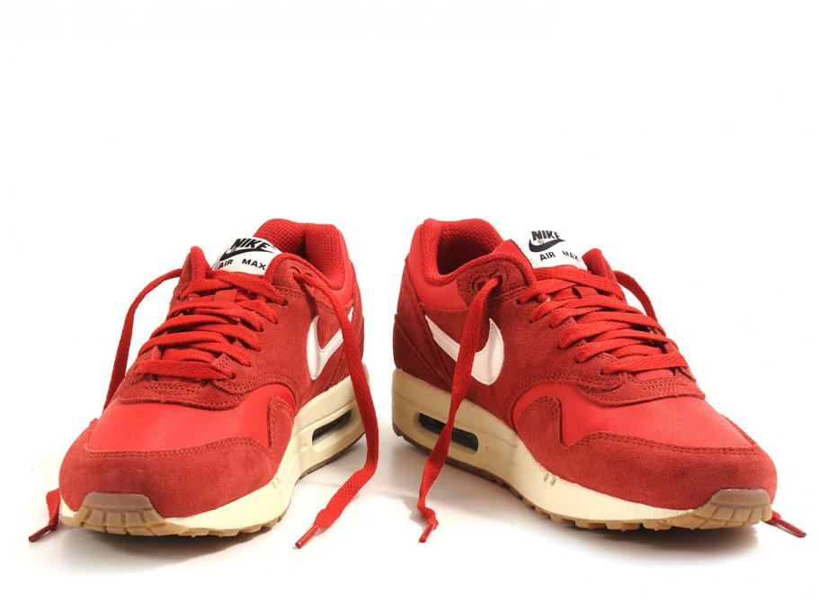 nike air max 1 essential gym red/sail-black-black