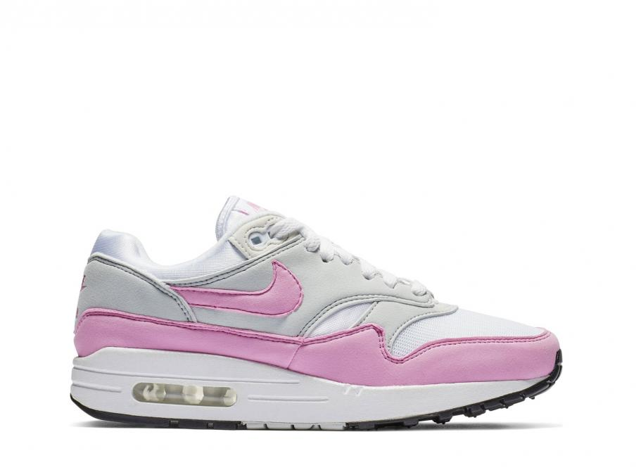 huge discount 3d8a0 7b0f1 Nike Wmns Air Max 1 Essential White   Psychic Pink BV1981-101   Soldes    Novoid Plus