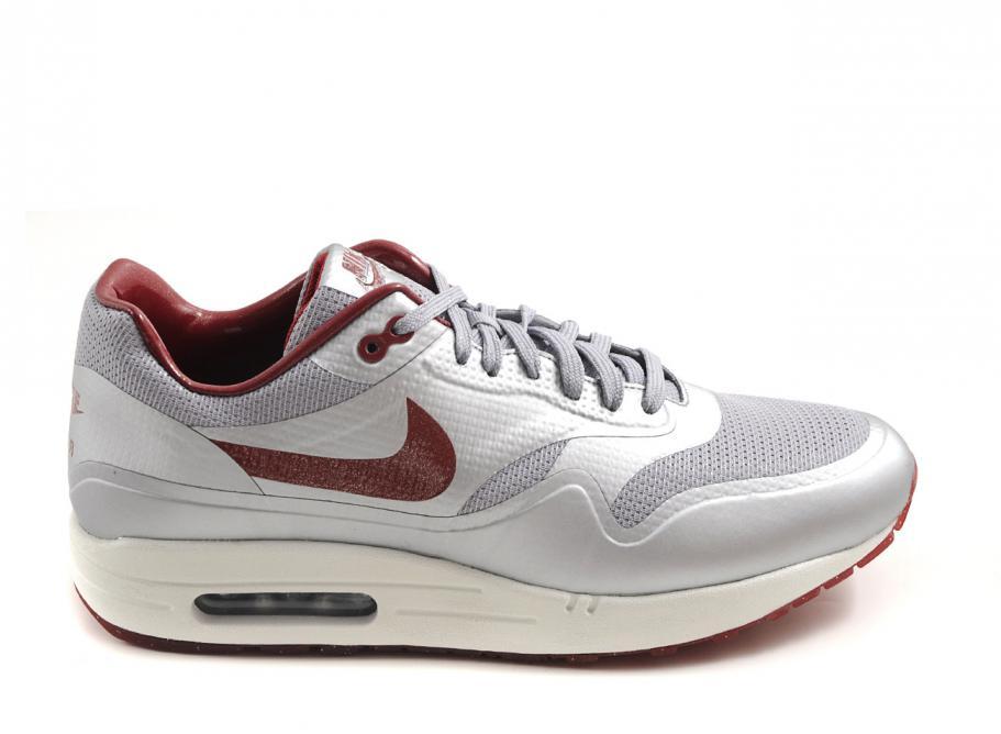 Nike Air Max 1 HYP QS Night Track Pack Mettalic Silver Deep Re