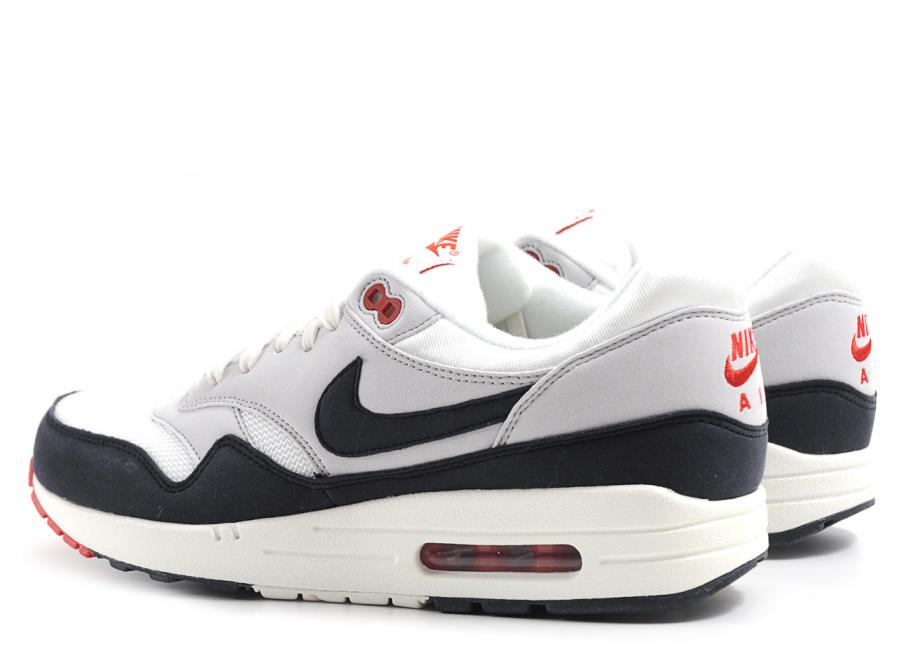 Nike Air Max 1 OG Sail Dark Obsidian Soldes Novoid Plus