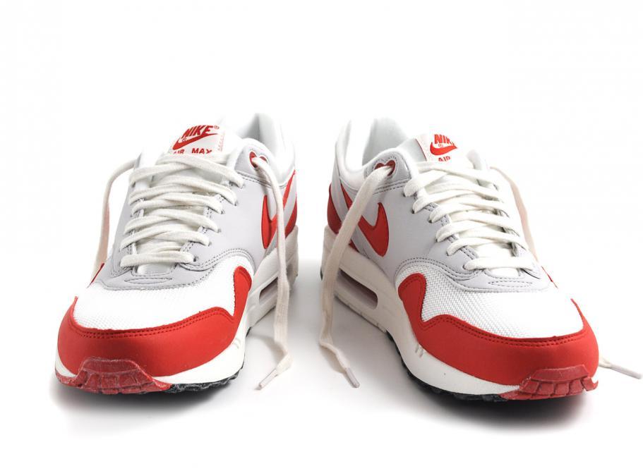 la meilleure attitude ad165 d3a25 Nike Air Max 1 OG Sail / University Red / Neutral Grey