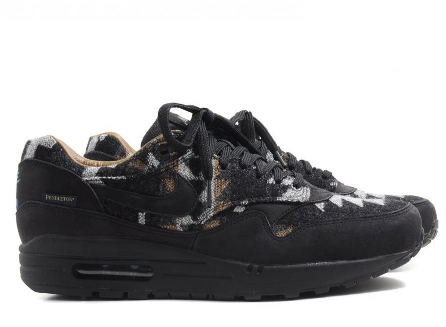 Nike Air Max 1 Pendleton QS Black   Soldes   Novoid Plus 3983ce69ca764