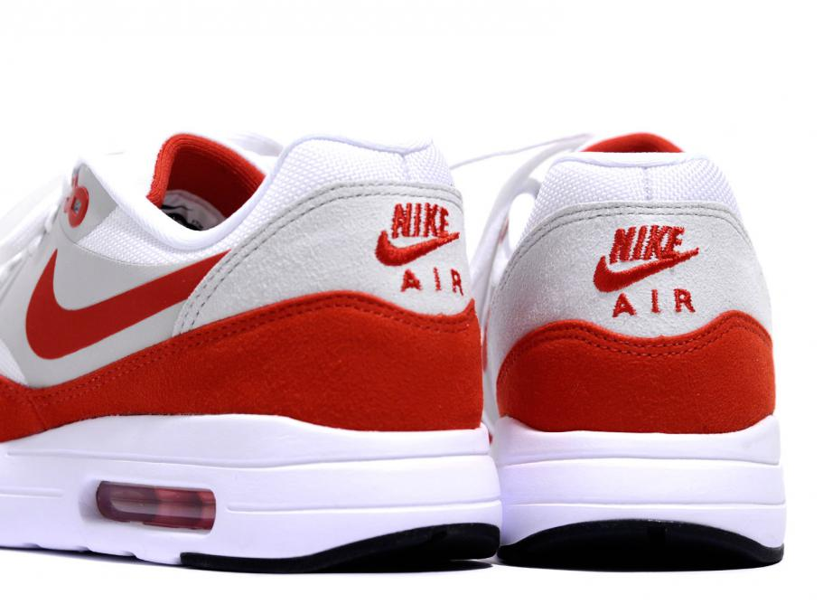 brand new af10b e0827 NIKE AIR MAX 1 ULTRA 2.0 LE WHITE   UNIVERSITY RED