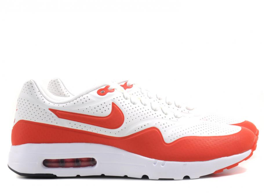 Nike Air Max 1 Ultra Moire Summit WhiteChallenge Red | Footshop