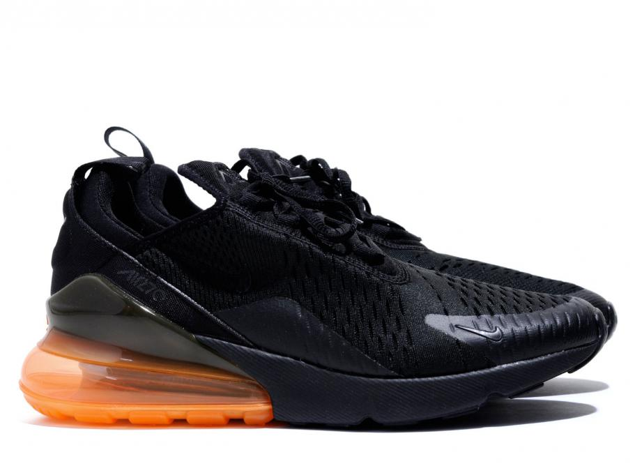 new products 9e805 dbfc7 Nike Air Max 270 QS Black / Total Orange