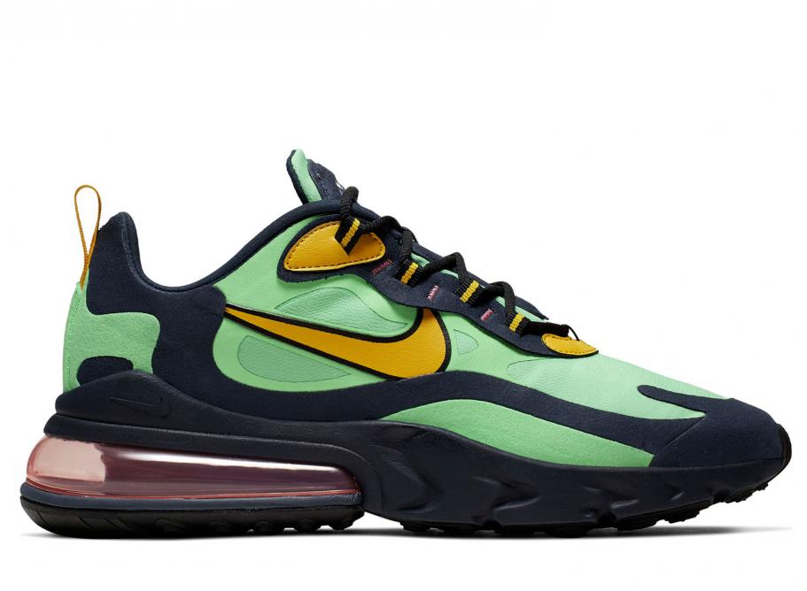 competitive price cce35 b0415 Nike Air Max 270 React Electro Green