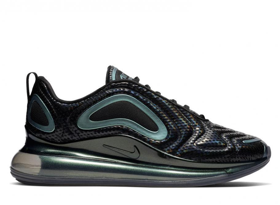 nouveau produit 68358 f28f9 Nike Air Max 720 Black Throwback Future