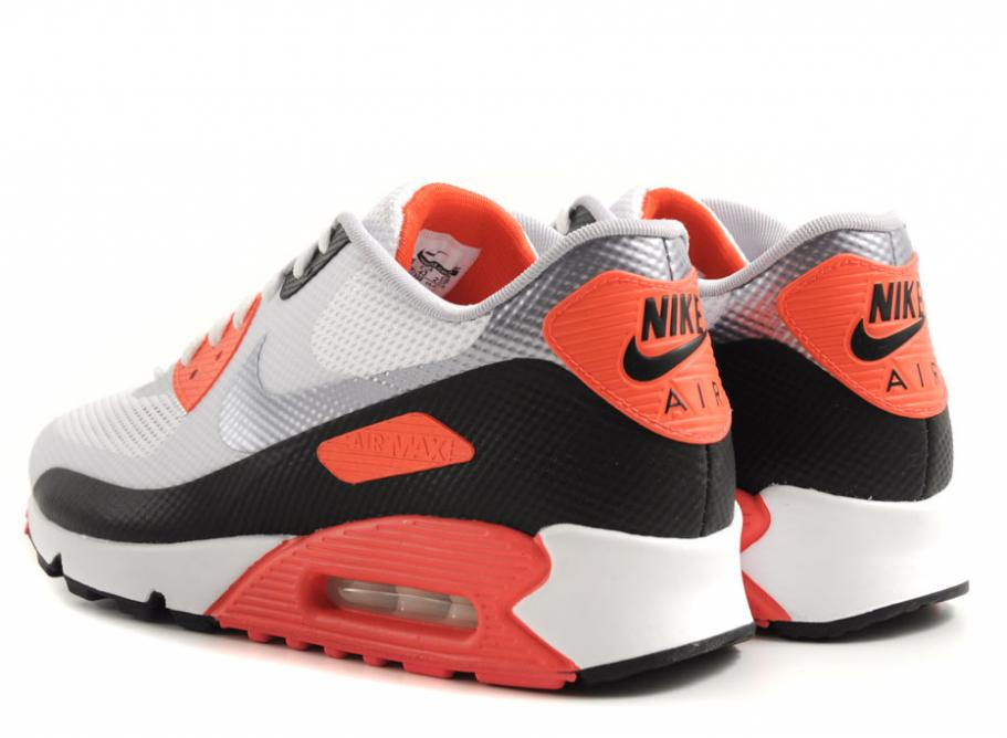 buy online 0bebf c36c6 NIKE AIR MAX 90 HYPERFUSE NRG WHITE CEMENT   INFRARED