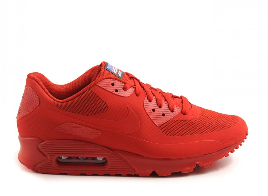 wholesale red air max 90 hyperfuse independence day 11004 67173