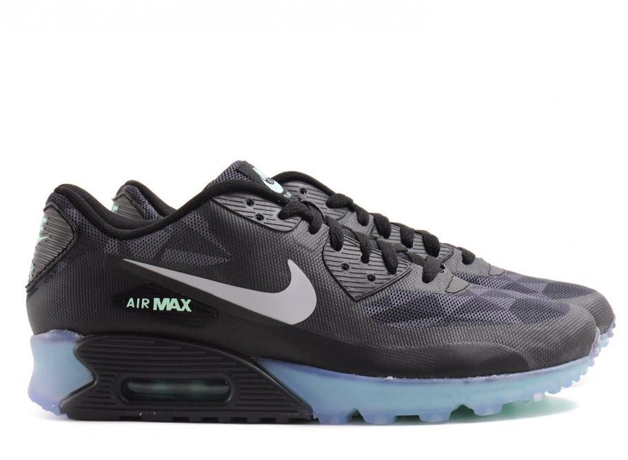 super popular fbe49 a1768 Nike Air Max 90 Ice QS Black   Cool Grey   Soldes   Novoid Plus
