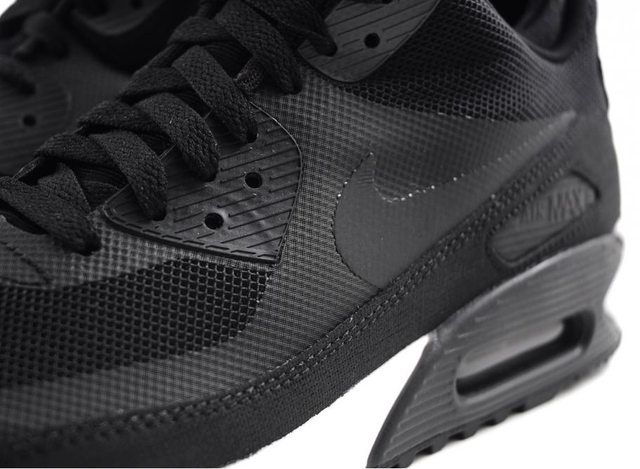 NIKE AIR MAX 90 MID SNEAKERBOOT BLACK / BLACK