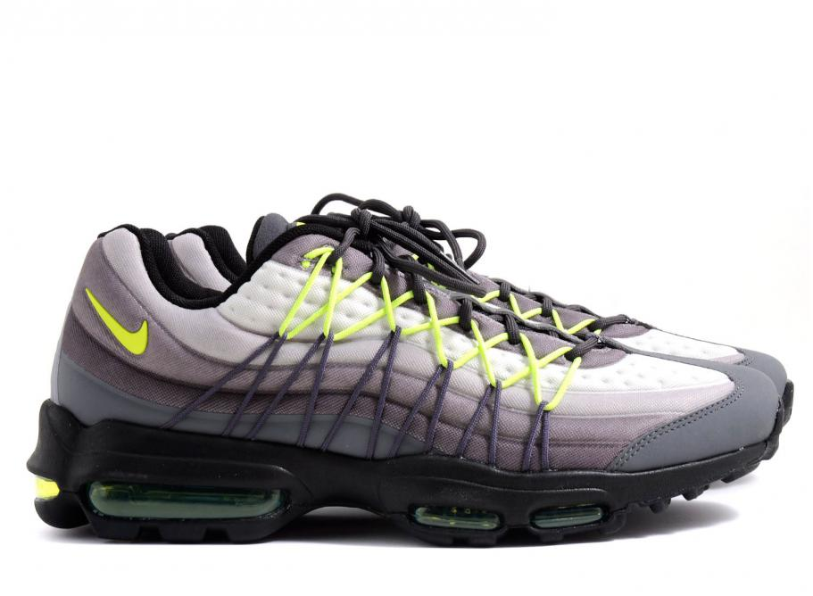 store factory outlets outlet boutique Nike Air Max 95 Ultra SE Dark Grey / Volt
