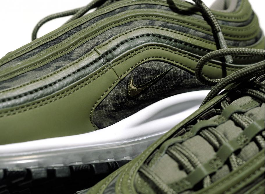 reputable site fc131 1f451 Nike Air Max 97 Tiger Camo Olive