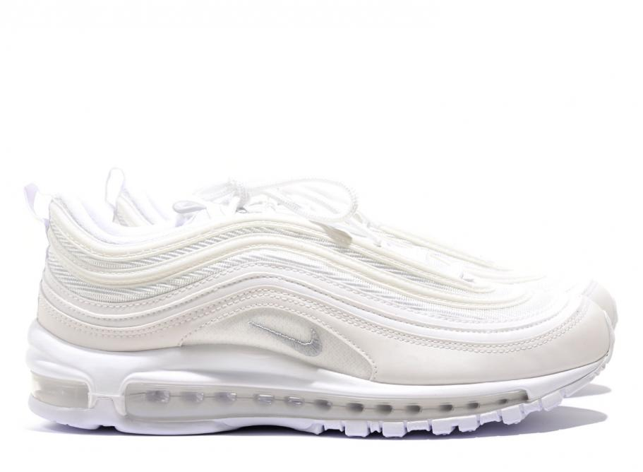 8b1ce353f8 Nike Air Max 97 White / Wolf Grey 921826-101 / Soldes / Novoid Plus