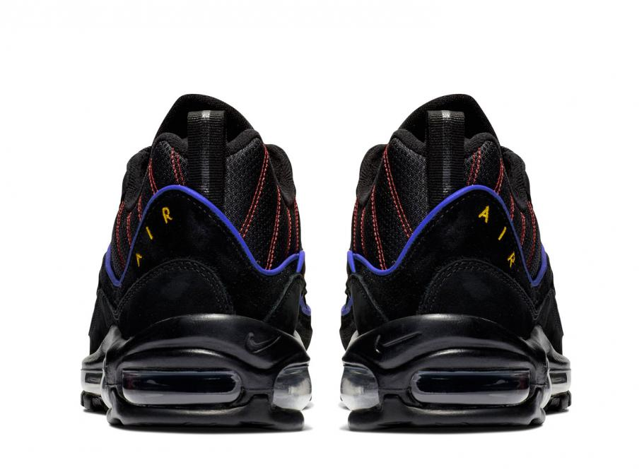 factory outlet timeless design innovative design Nike Air Max 98 Black / Amarillo