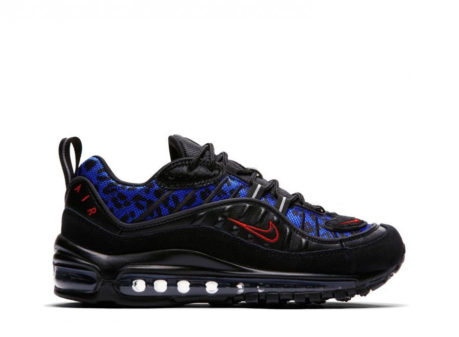 dc17a2648d801 Nike Wmns Air Max 98 PRM Black   Habanero BV1978-001   Soldes   Novoid Plus