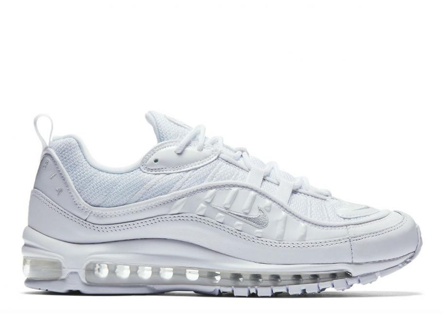 Nike Air Max 98 White   Pure Platinium 640744-106   Soldes   Novoid Plus 62af903e5862