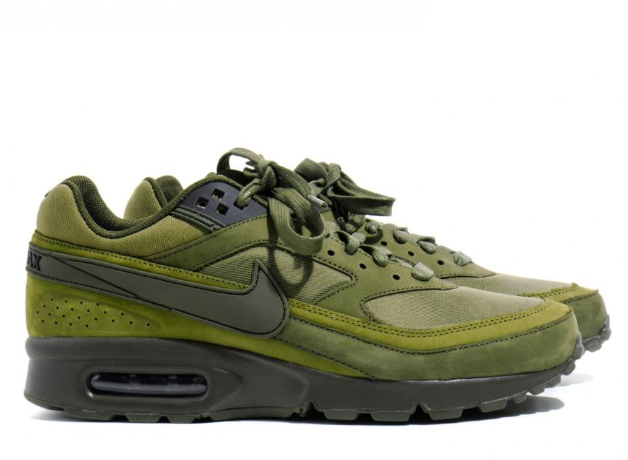 9bec20709a ... nike bw Nike Air Max BW Dark Loden 819523-300 / Soldes / Novoid Plus;