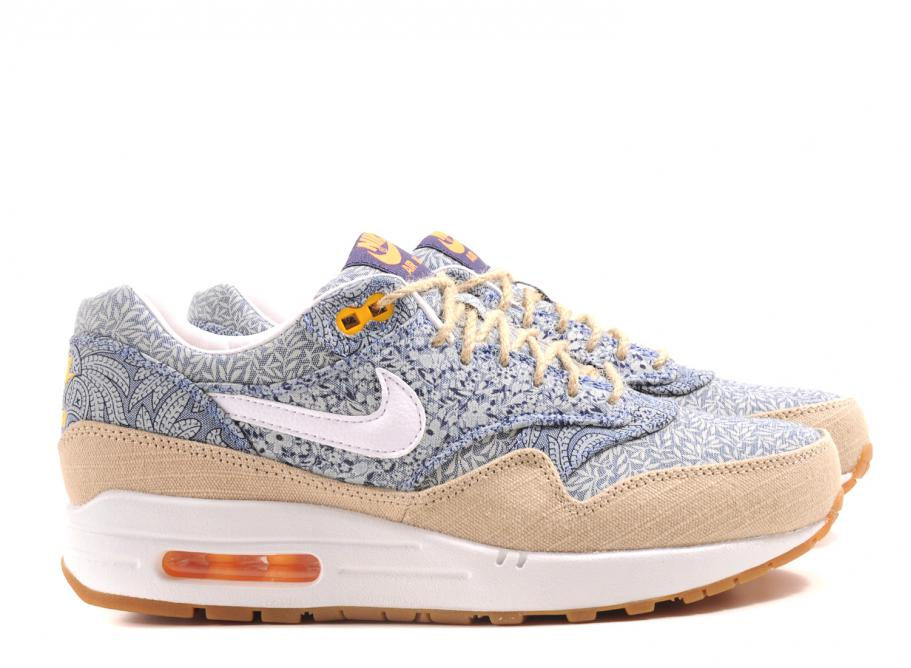 NIKE WMNS AIR MAX 1 LIBERTY QS RECALL BLUE