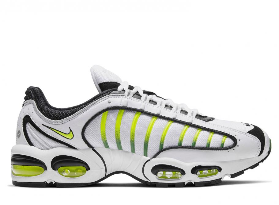 new concept fdd18 511ee Nike Air Max Tailwind IV White   Volt AQ2567-100   Soldes   Novoid Plus