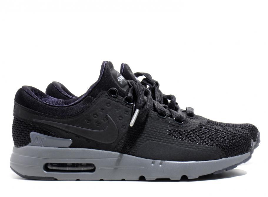 new product 7601f 778a9 Nike Air Max Zero Black Grey QS 789695-001   Soldes   Novoid Plus
