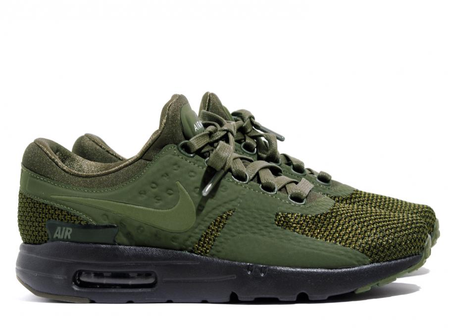save off f64dd ec43e Nike Air Max Zero Premium Shoe Dark Loden 881982-300   Soldes   Novoid Plus