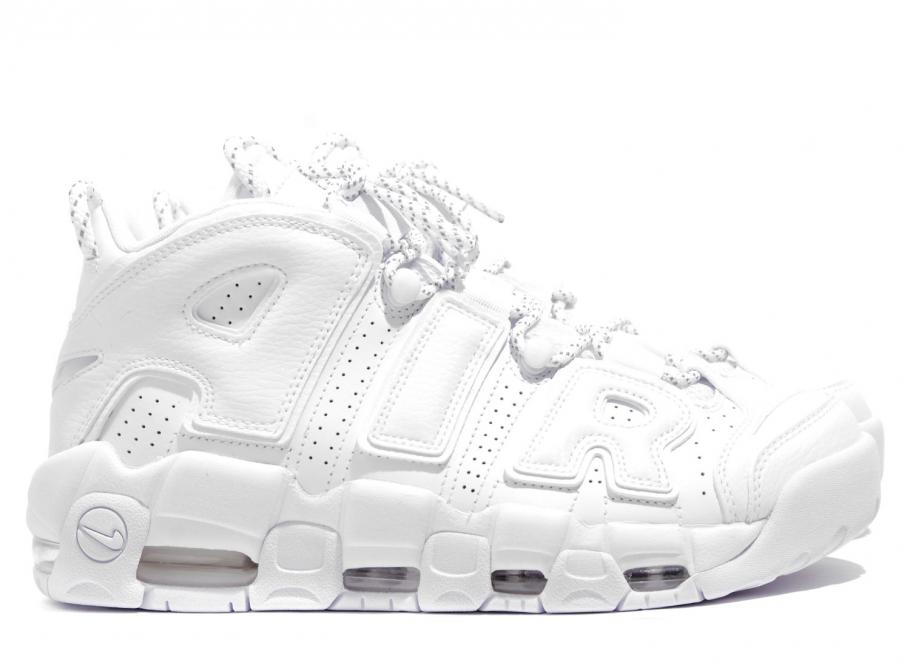 727f1ad0880f Nike Air More Uptempo 96 Triple White 921948-100   Soldes   Novoid Plus