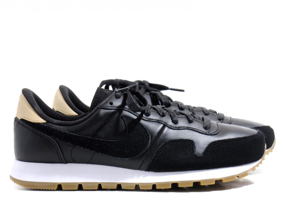 Nike Air Pegasus 83 Black Vachetta Tan