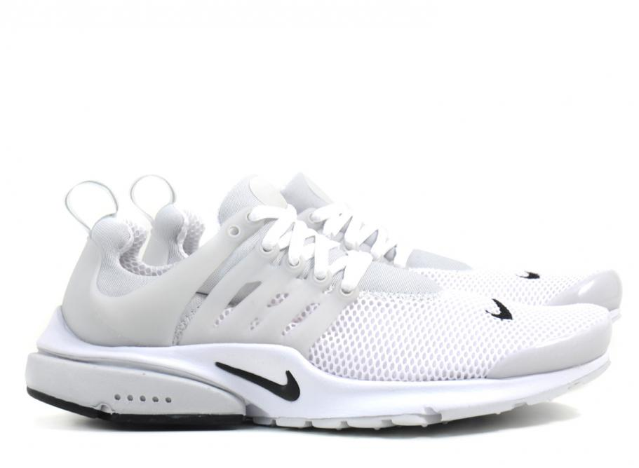 newest collection 5753e 9033e Nike Air Presto BR QS White   Black   Soldes   Novoid Plus
