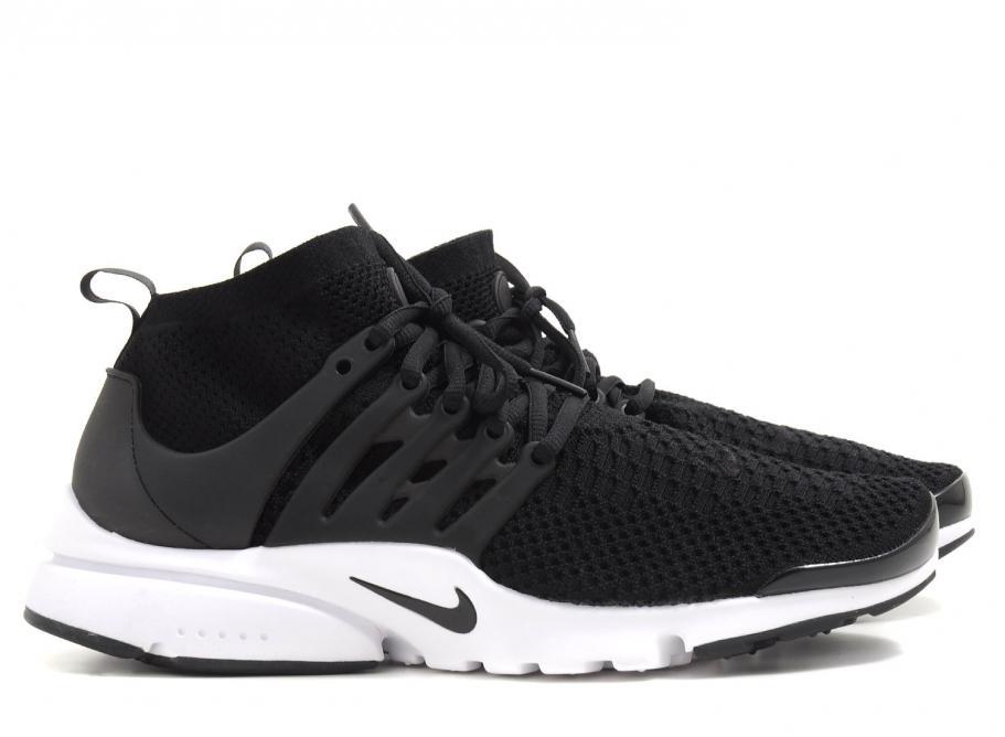 tout neuf dfa3f 1b087 Nike Air Presto Flyknit Ultra Black