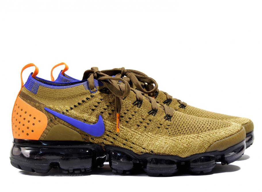 301ea6698b3 Nike Air VaporMax Flyknit 2 Golden Beige 942842-203   Soldes   Novoid Plus