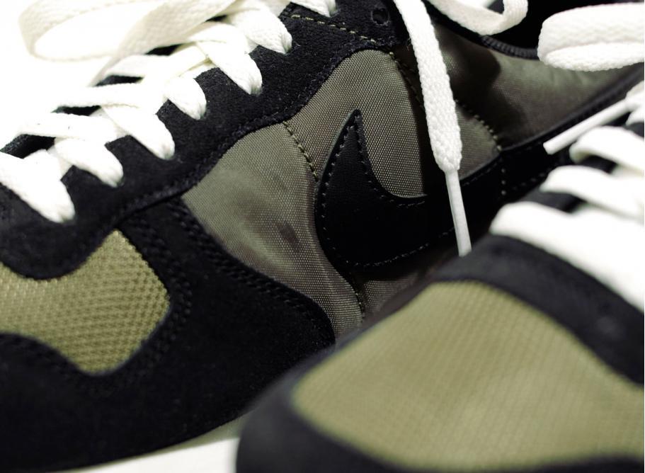 Nike Air Vortex Black Medium Olive