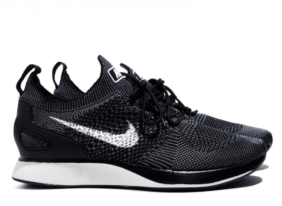 3e65db4db2c7f Nike Air Zoom Mariah Flyknit Racer Black   Grey 918264-001   Soldes    Novoid Plus