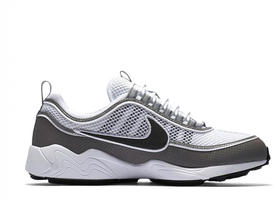 uk availability 47528 a45ed Nike Air Zoom Spiridon QS White   Light Ash 849776-101   Soldes   Novoid  Plus
