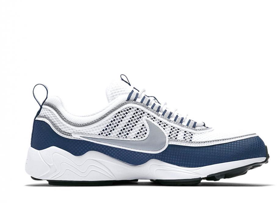 uk availability d3377 bc422 Nike Air Zoom Spiridon QS White   Light Midnight 849776-103   Soldes    Novoid Plus