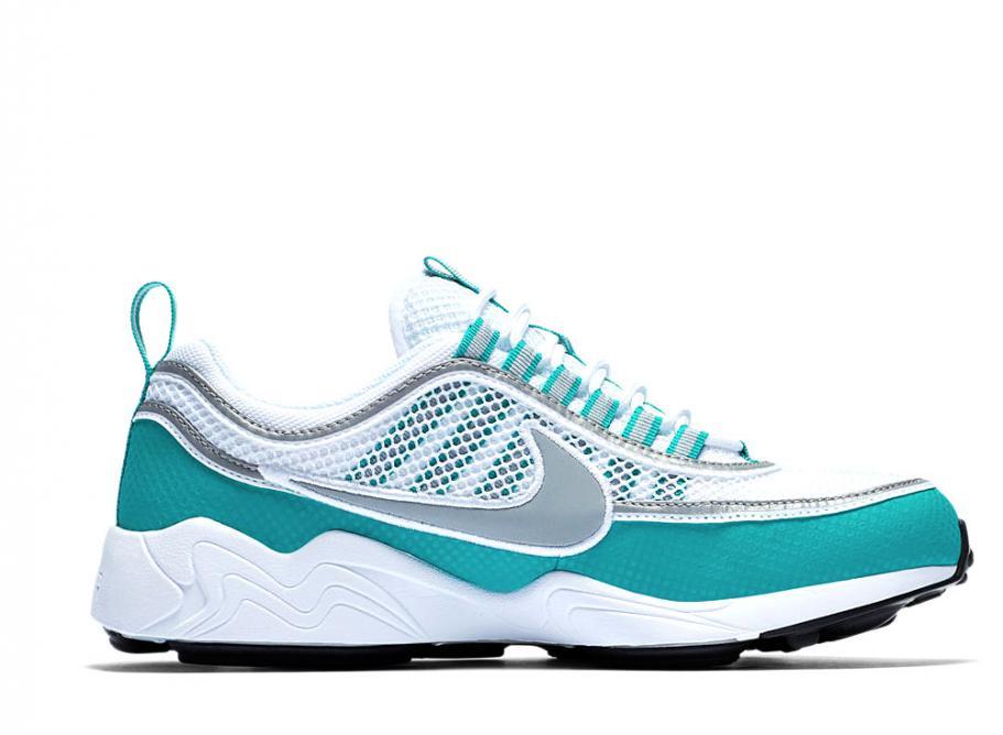 768e748d83549 Nike Air Zoom Spiridon QS White   Turbo Green 849776-102   Soldes   Novoid  Plus
