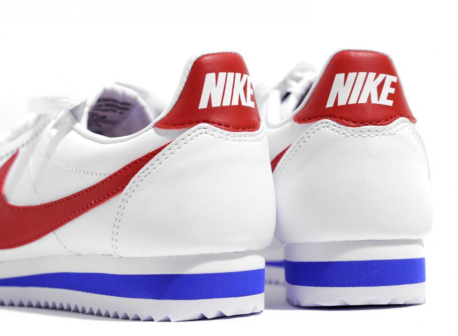 reputable site 8475e 315e8 Nike W Classic Cortez Leather White Varsity Red