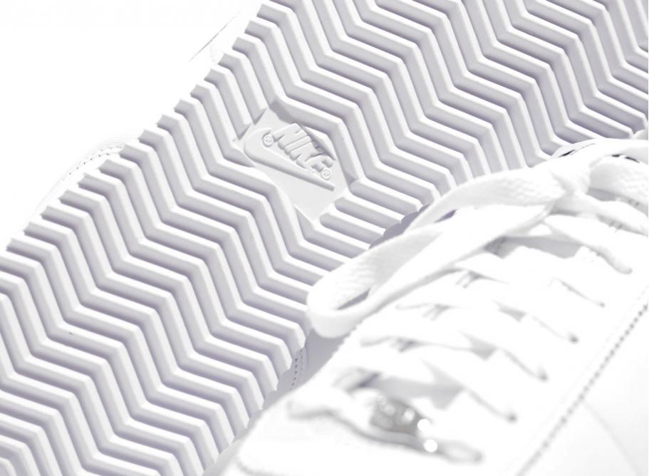 733c9a1945 Nike Cortez Basic Jewel QS White / Black 938343-101 / Soldes ...