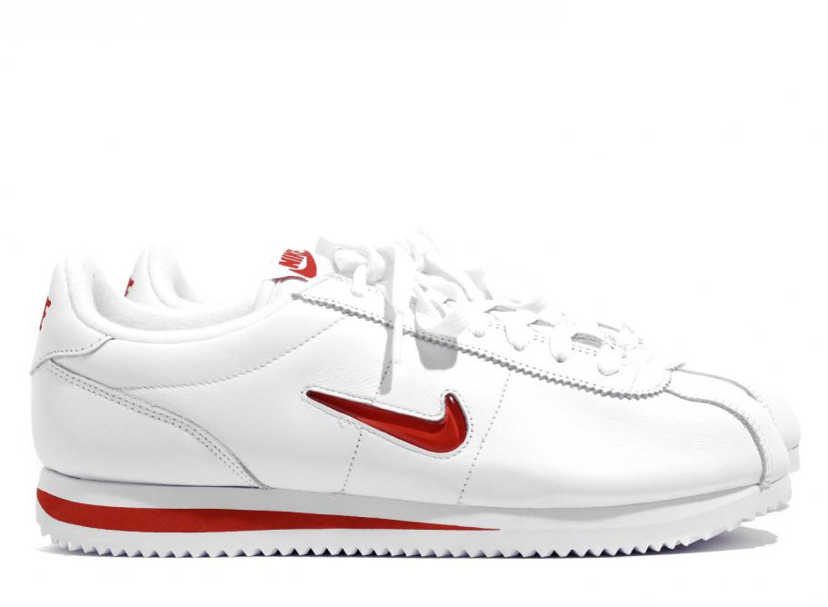 detailed look 37d80 7538d Nike Cortez Basic Jewel QS White / Red