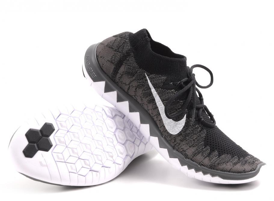 grand choix de d1357 cae7f Nike Free Flyknit 3.0 Black / Midnight Fog