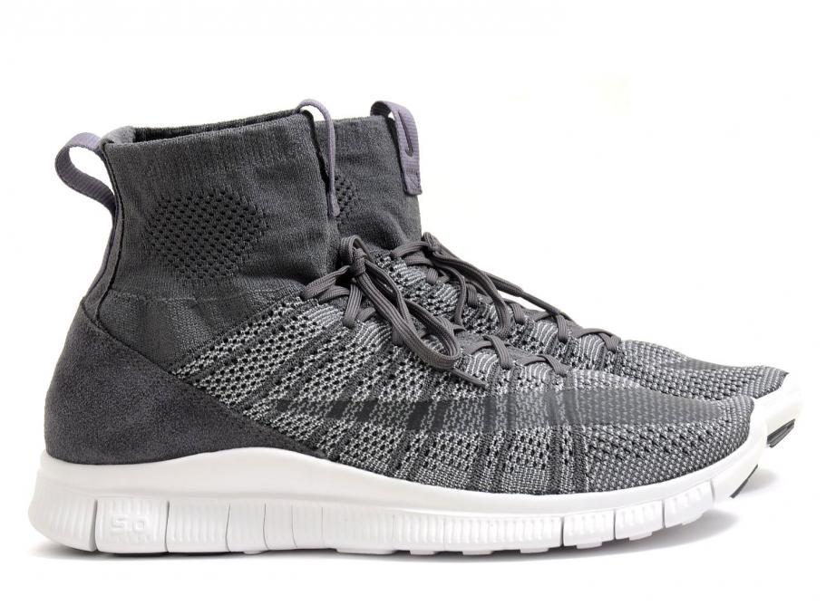 watch 82f4a 3af78 Nike Free Flyknit Mercurial Dark Grey   White 667978-009   Soldes   Novoid  Plus
