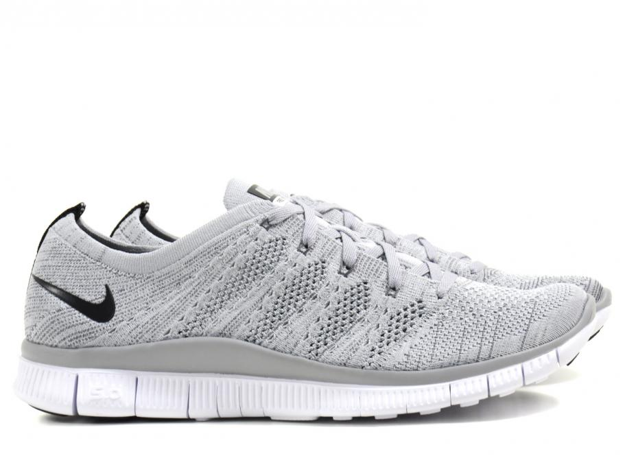 new arrival 986c2 cb8ad Nike Free Flyknit NSW Wolf Grey   Soldes   Novoid Plus