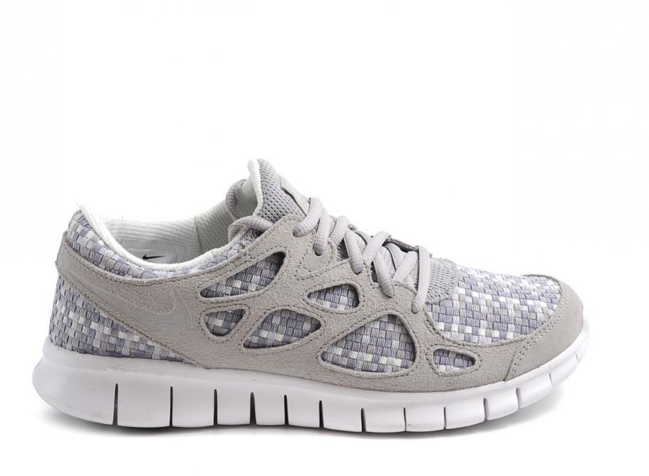 e08facaba12 Nike Free Run+ 2 Woven Pure Platinium   Soldes   Novoid Plus