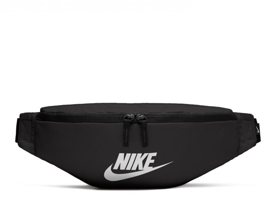 info for c0ae9 fb776 Nike Sportswear Heritage Hip Pack Black   White BA5750-010   Soldes    Novoid Plus