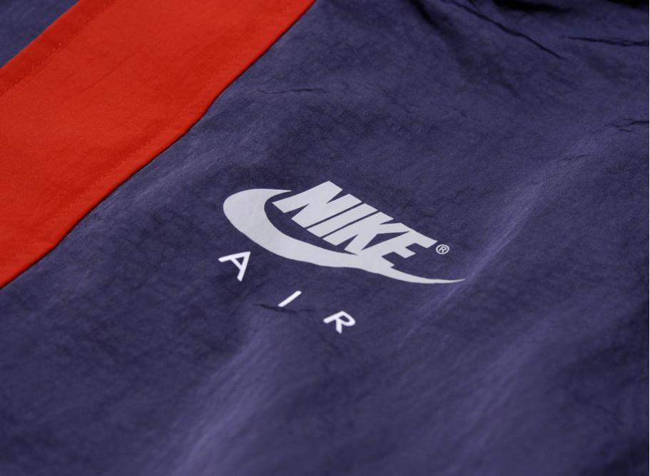 696e3c0c3310 Nike Jacket Hood Thunder Blue   University Red 861634-471   Soldes ...