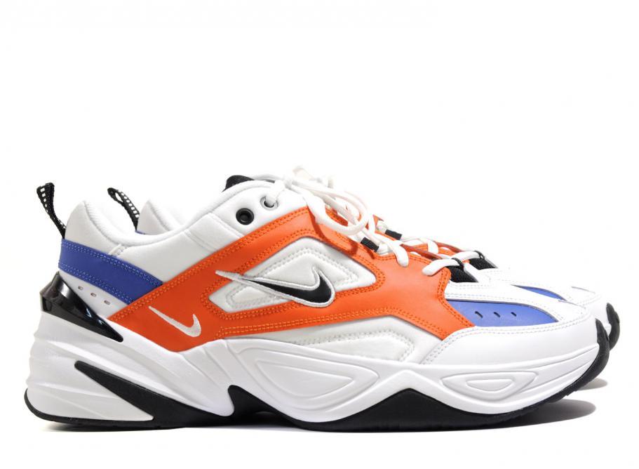 68c90e44b8 Nike M2K Tekno Summit White   Team Orange AV4789-100   Soldes   Novoid Plus