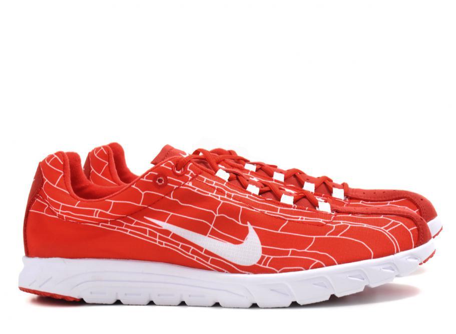 sports shoes 92f80 a7041 Nike Mayfly University Red / White / Soldes / Novoid Plus